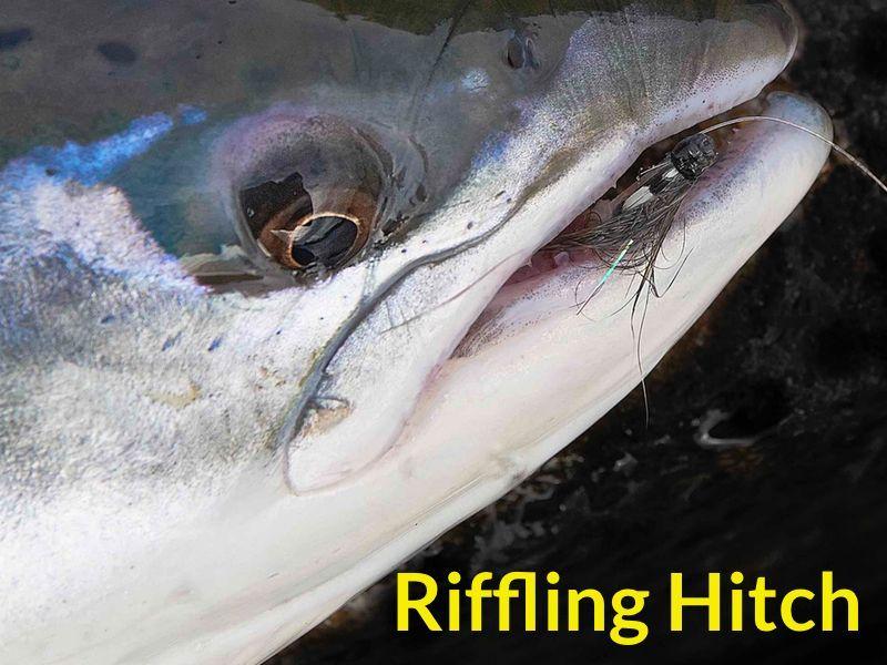 riffling hitch fly