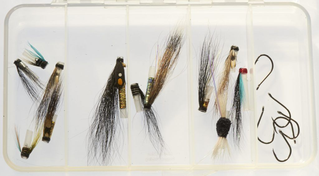 Selection of Riffling Hitch - Micro tube flies - Single hook version