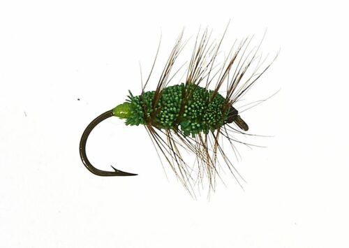 Green Machine Bug #10. salmon and steelhead bug