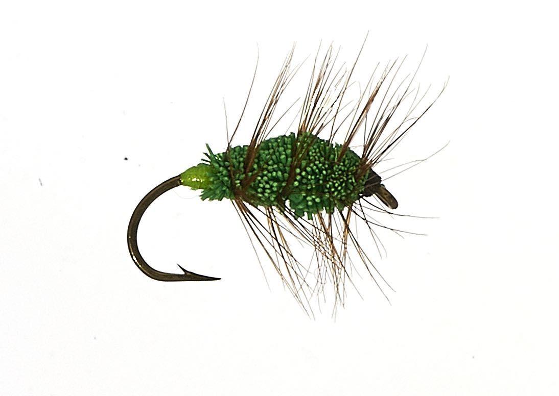 Green Machine Bug #10. salmon and steelhead bug