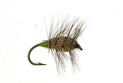 Natural Buck Bug salmon and steelhead bug