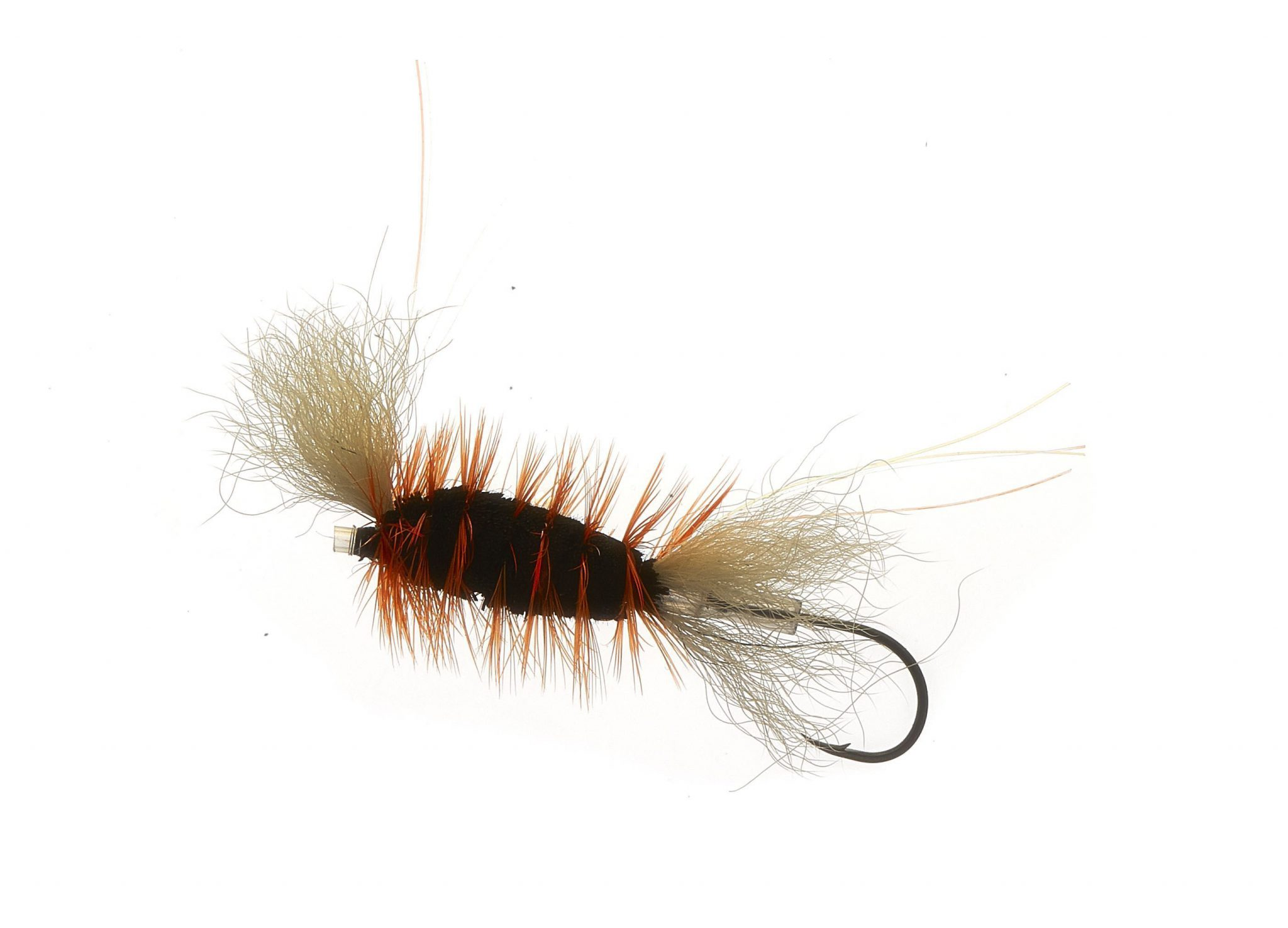 Tube Bomber Small Black and Orange # 8 - 10