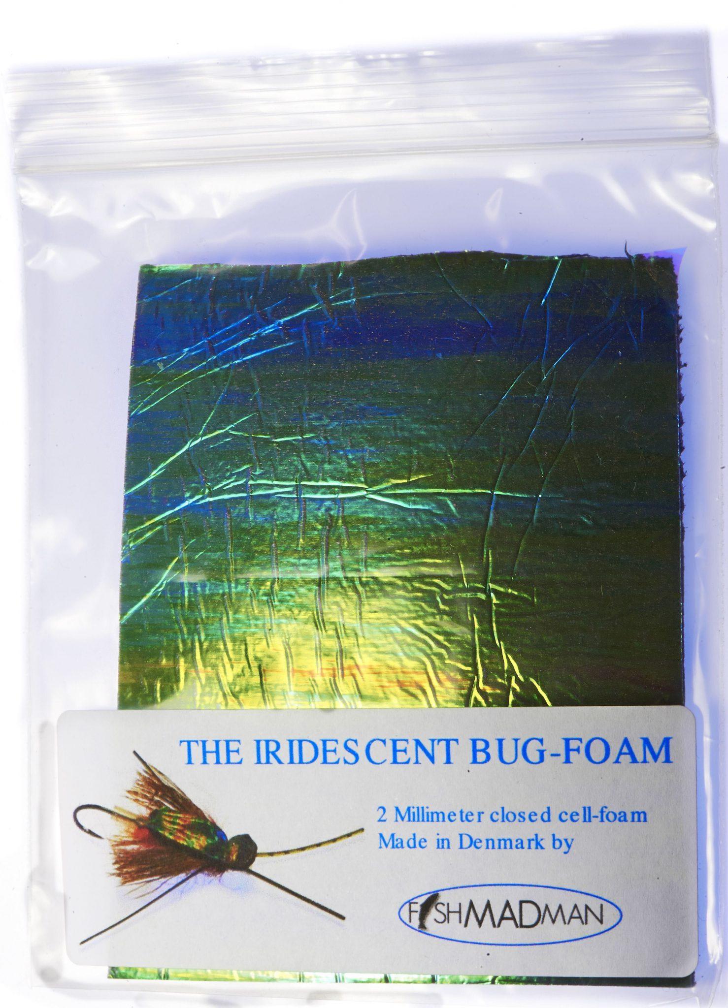 iridescent close cell foam