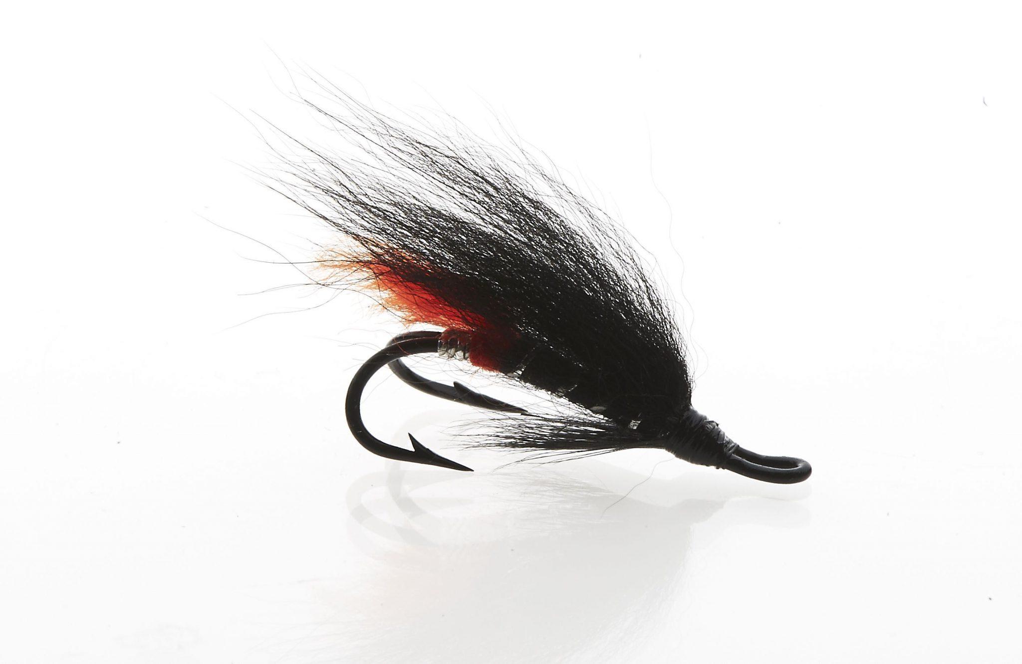 Riffling Hitch Black Bear Red Butt double hook