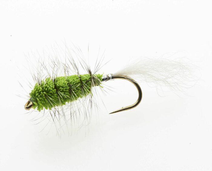 Chartreuse Bug - salmon and steelhead bug