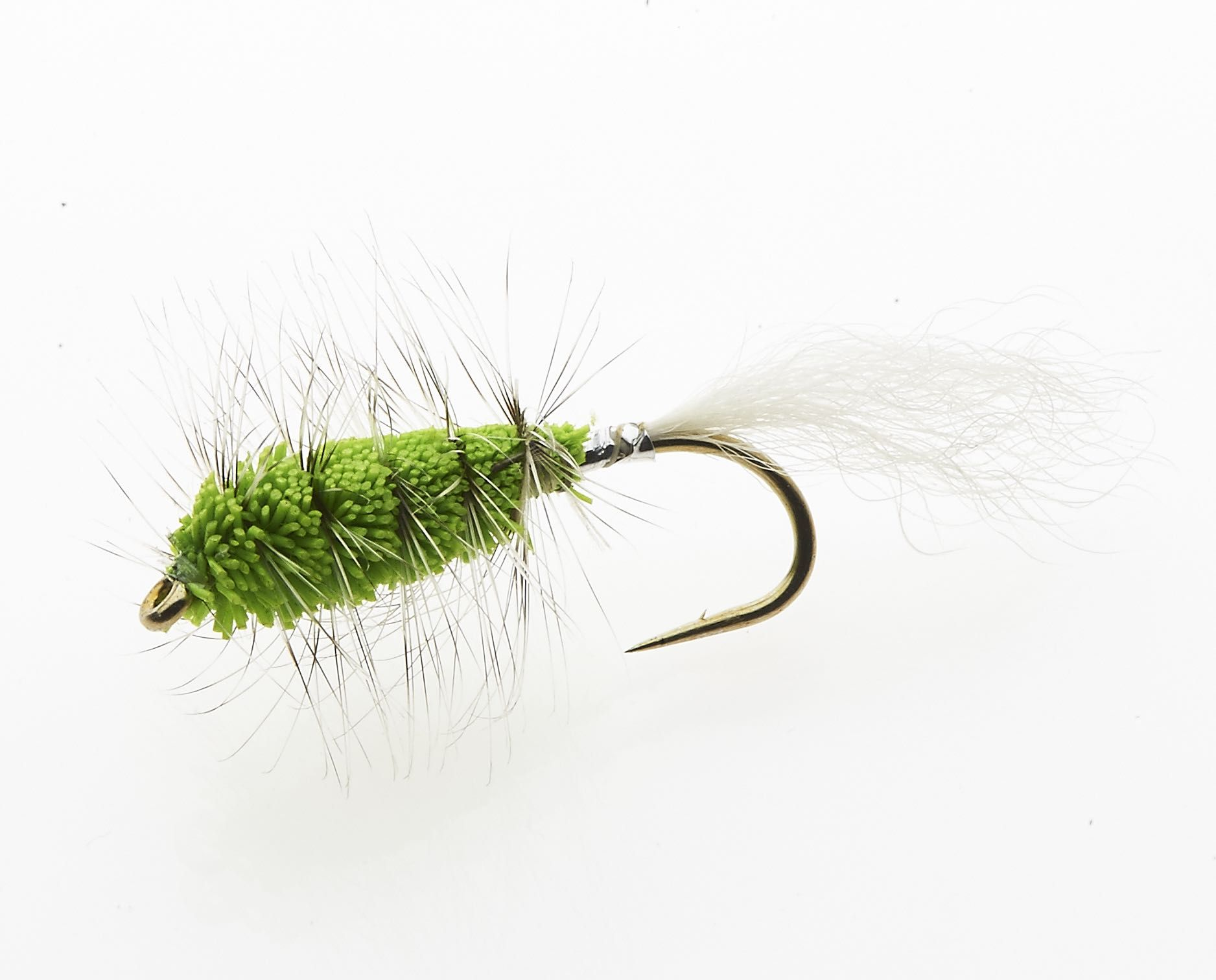 Chartreuse Bug - salmon and steelhead bug