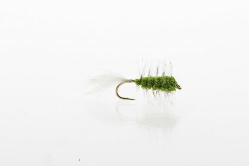 Chartreuse Bug salmon and steelhead bug