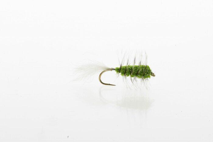 Chartreuse Bug salmon and steelhead bug