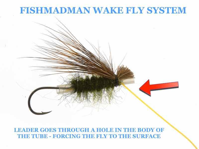 Fishmadman wake fly system