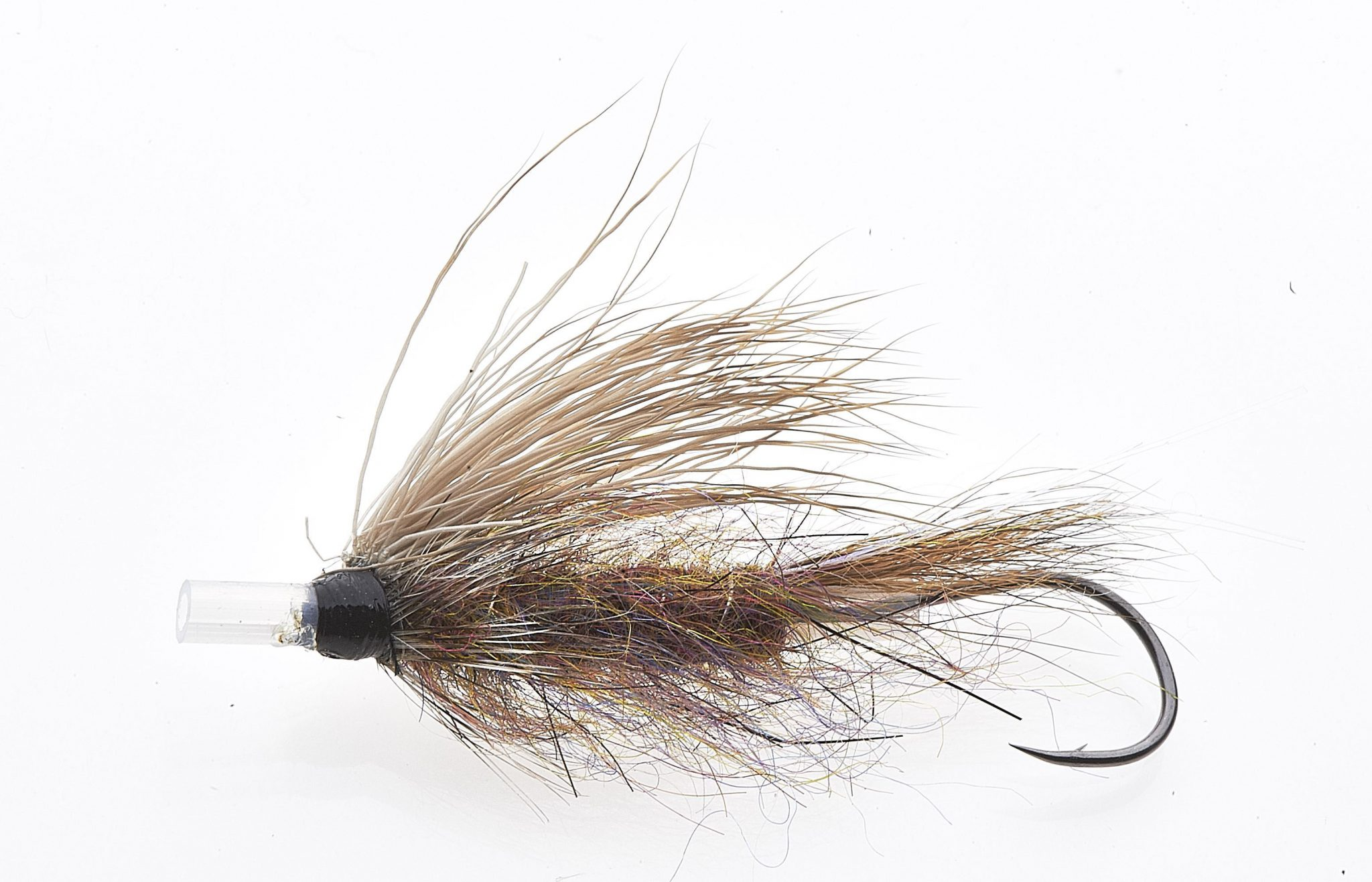 Grease line wake fly Brown