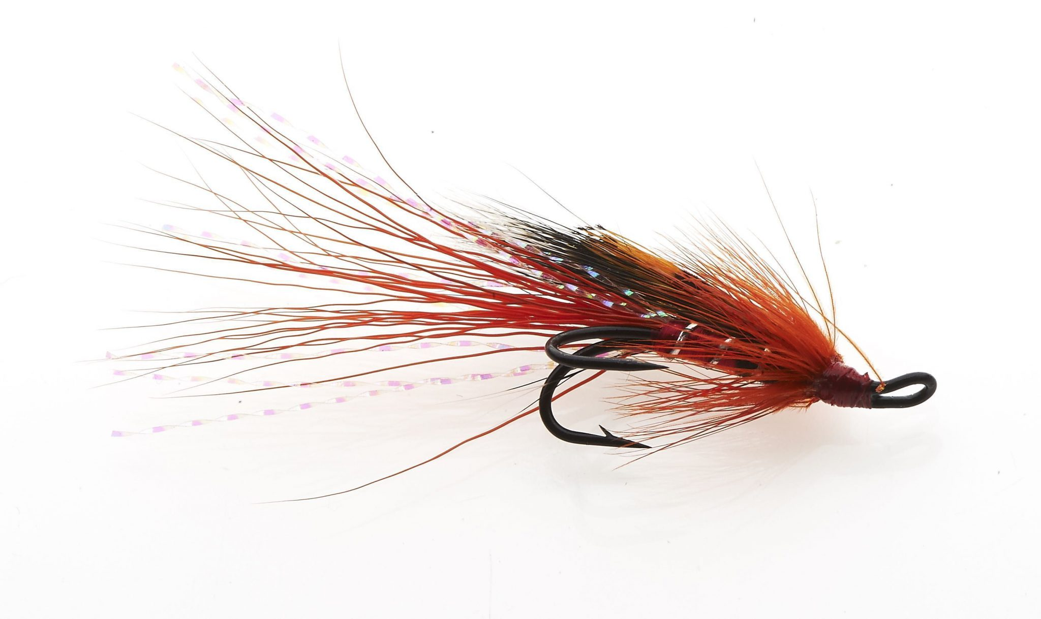 Red Ally`s Shrimp Double Hook Riffling Hitch Version