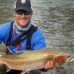 steelhead on wake fly