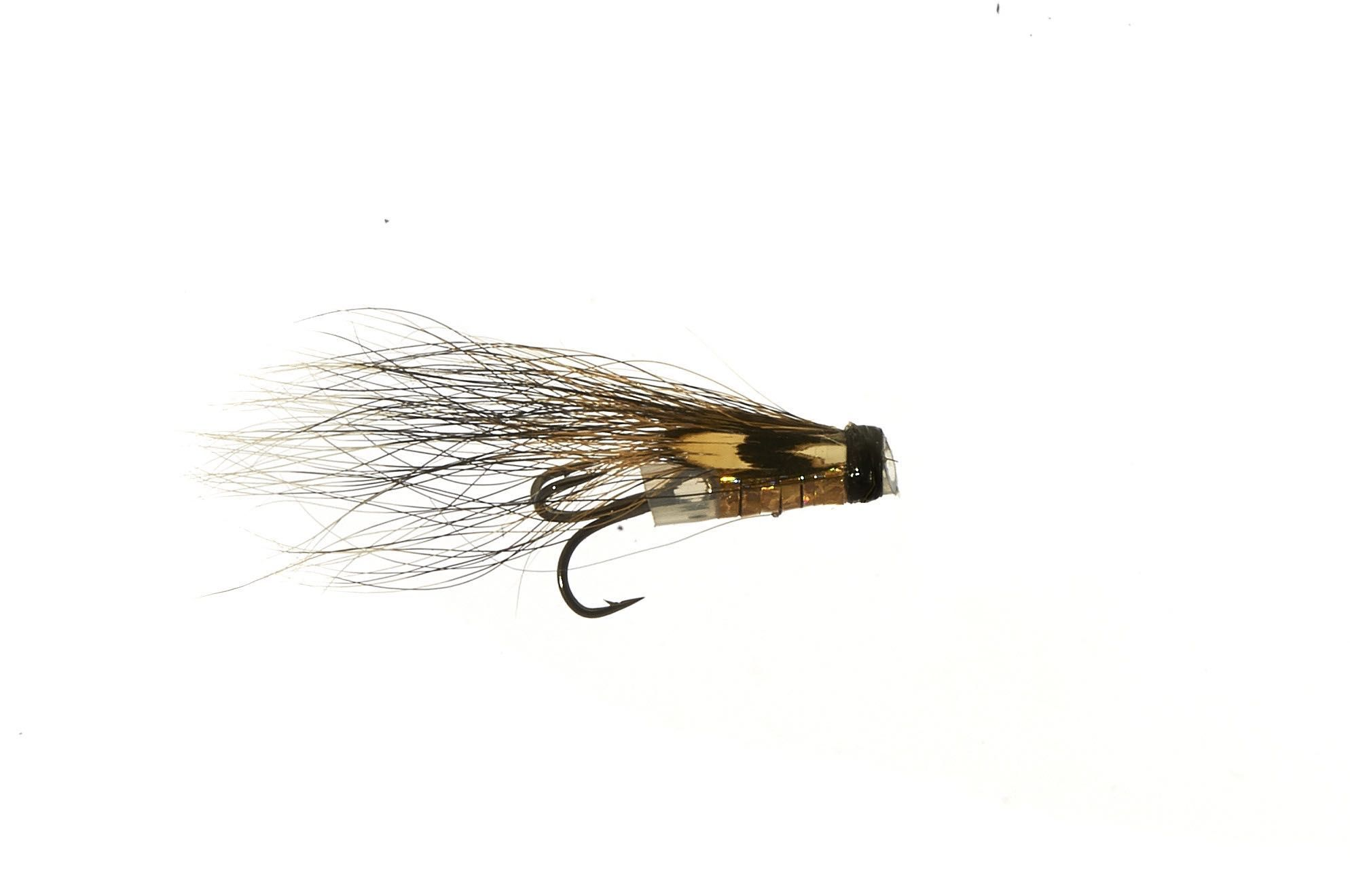 MICRO V-Fly Hitch - Holo Silver Tippet