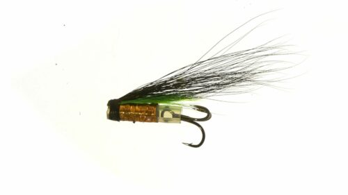 Micro Riffling Hitch V-Fly - Green Highlander