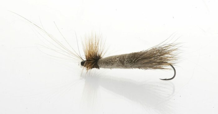 Monster Tube Caddis dry fly