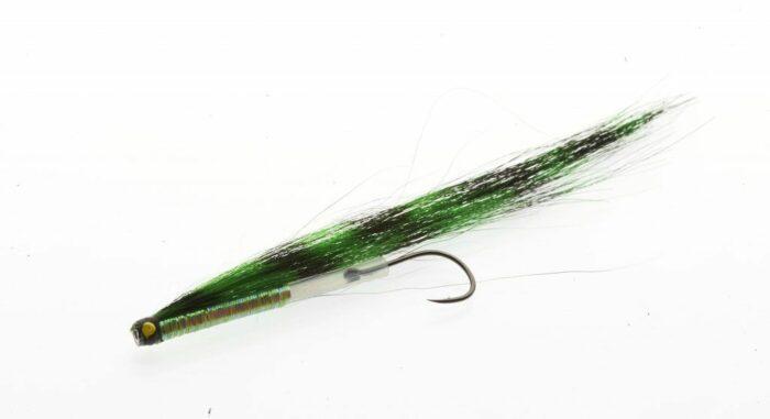 Zebra Sunray Shadow Iridescent Black and Green Medium