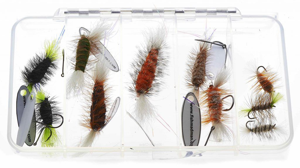 Fly box 5 rooms – Smaller flies and hooks