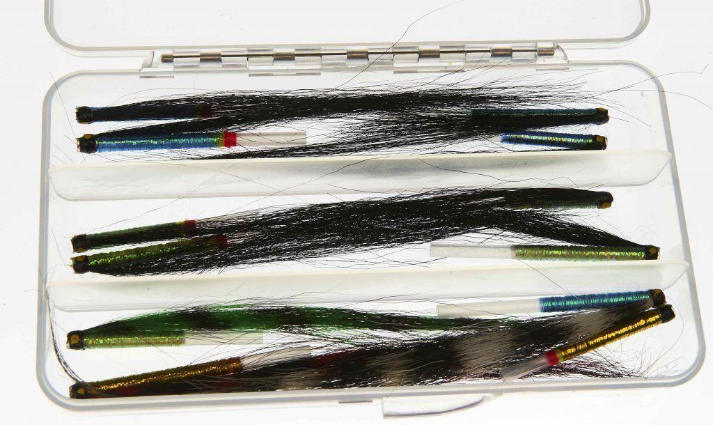 Selection of Iridescent Sunray Shadow tube flies