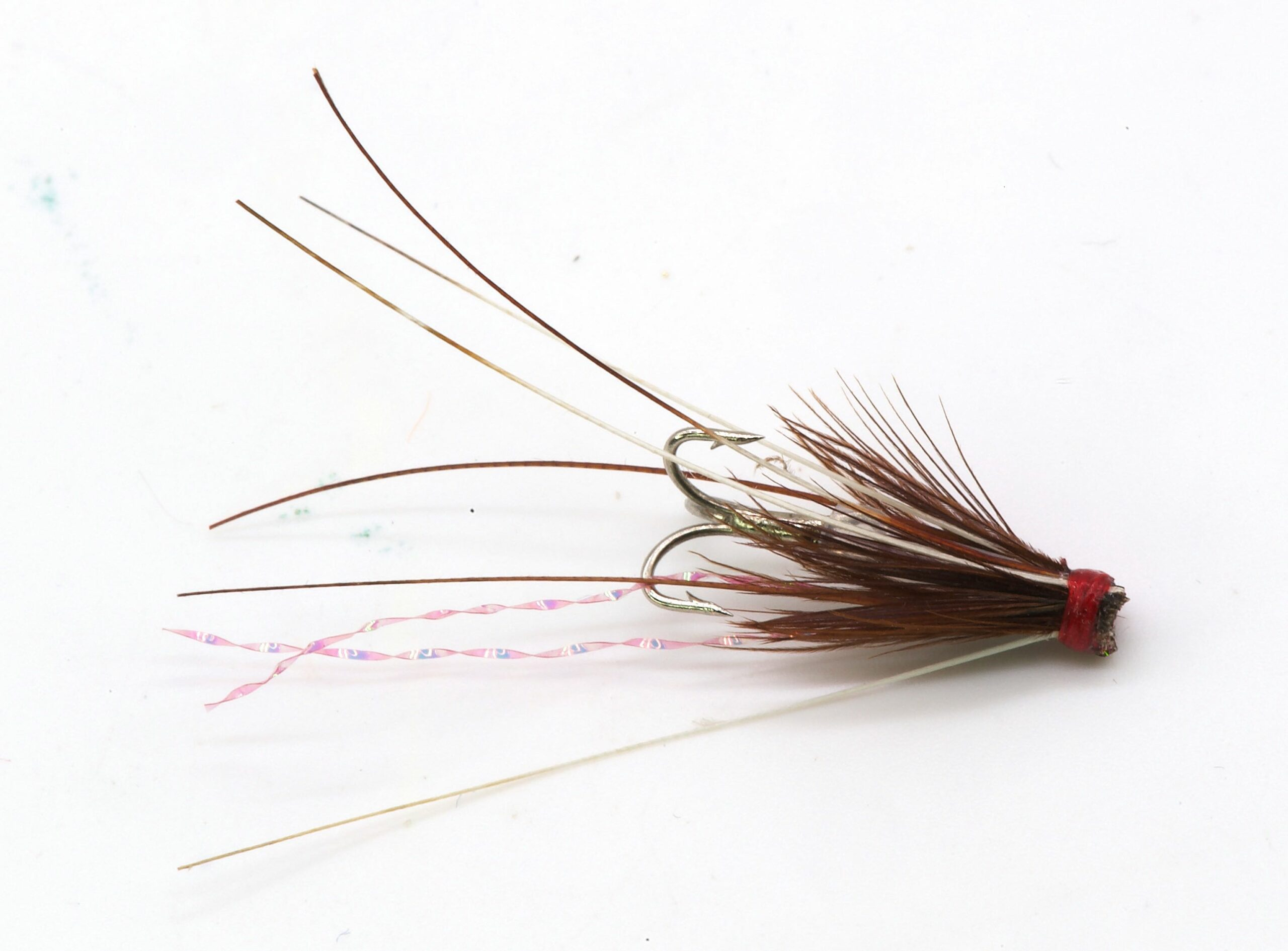 Icelandic Micro Hitch Fly Red Frances IH1007 - 2