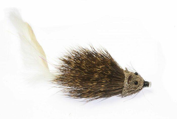 Baby Tube Rat- White Zonker tail