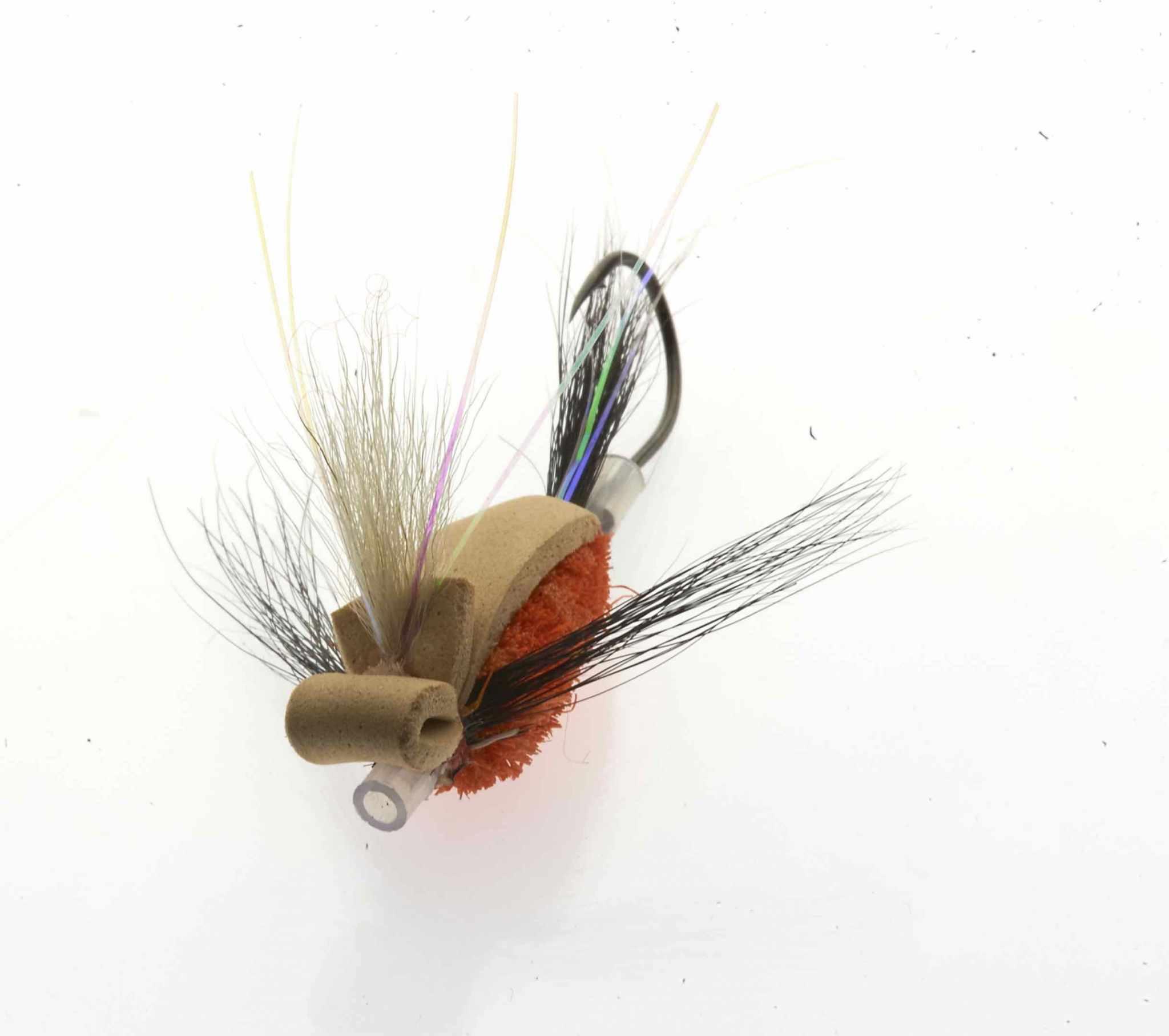 Quigley's Dragon Gurgler - Brown & Orange Medium
