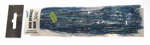 Pike fly tinsel Blue and Silver