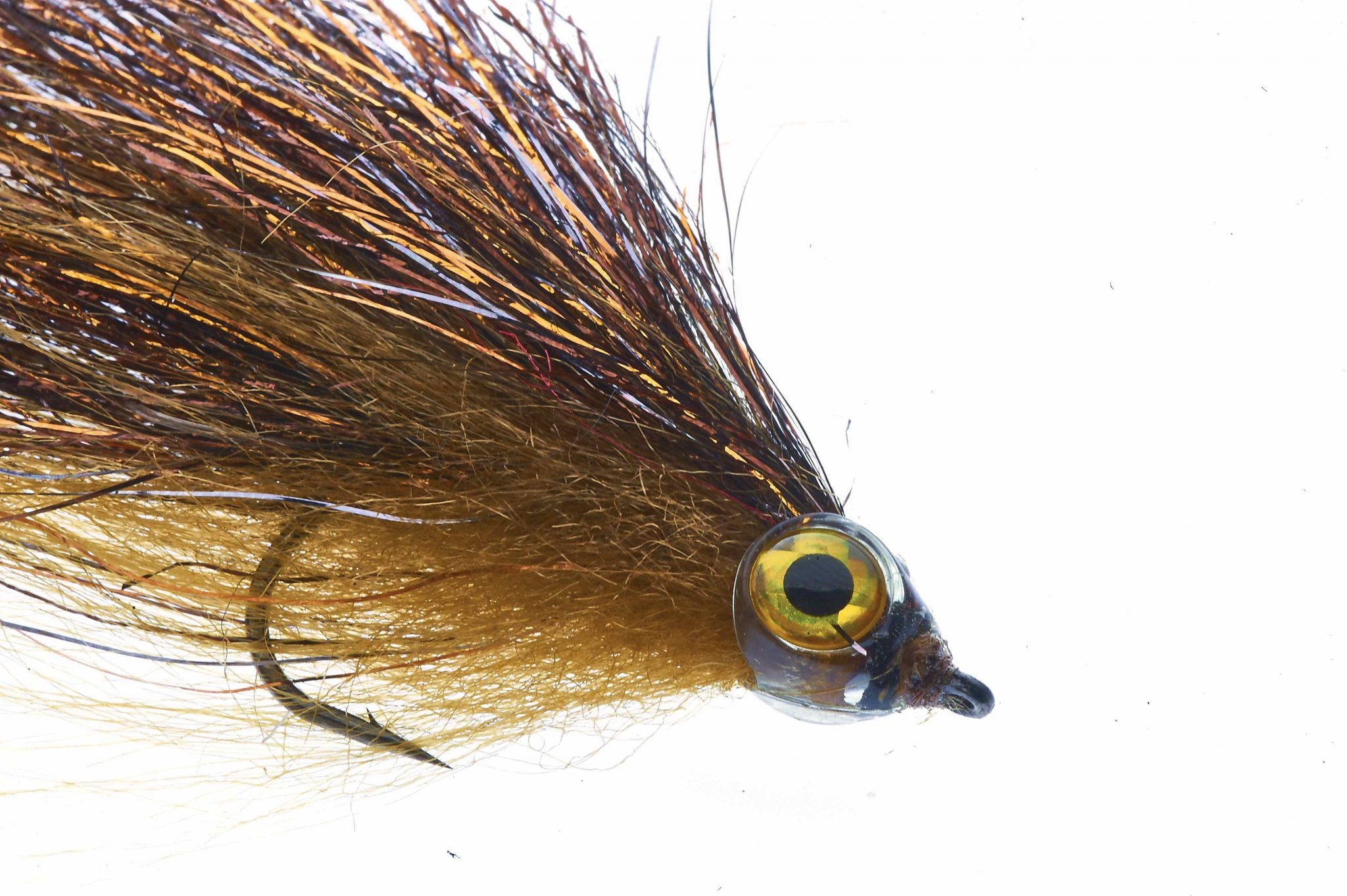 Fishmadman Pike Fly single hook Copper