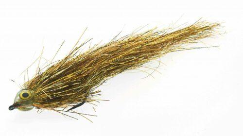 Fishmadman Pike Fly single hook Gold