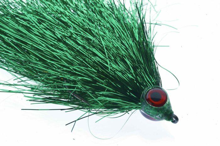 Fishmadman Pike Fly single hook Green