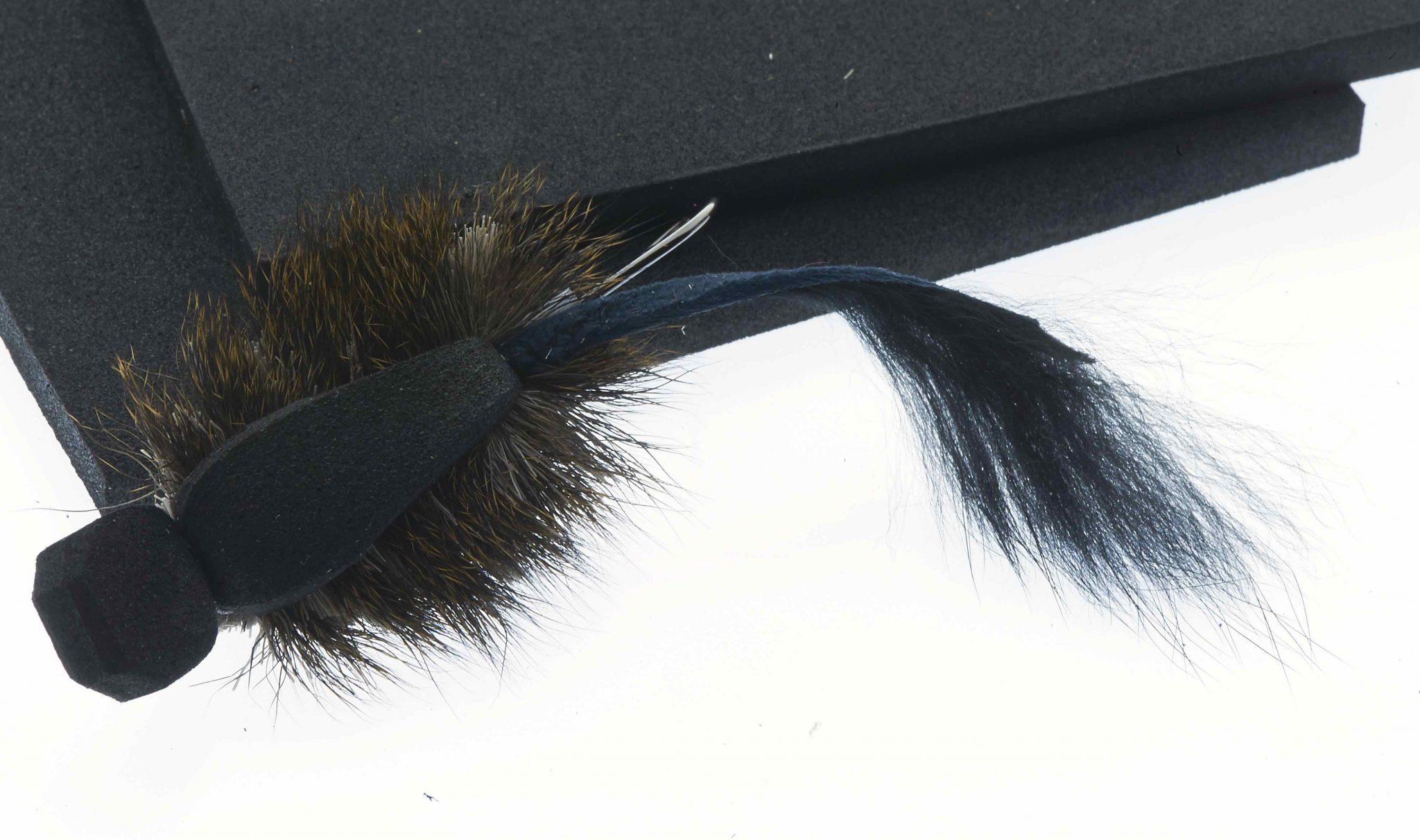 Eva foam for Mighty Mouse Tube fly Black