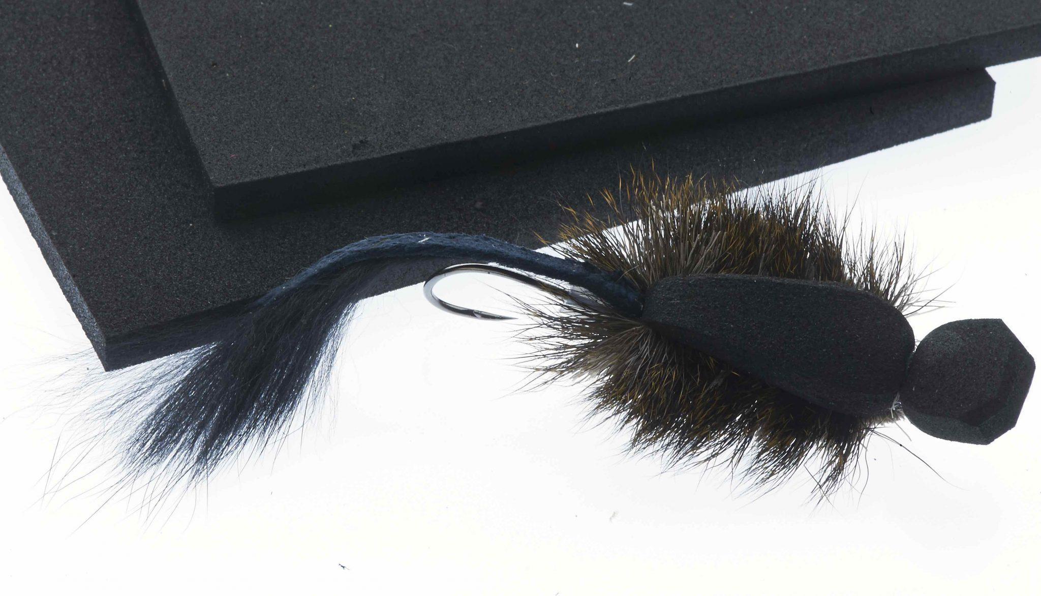 Eva foam for Mighty Mouse Tube fly Black 6