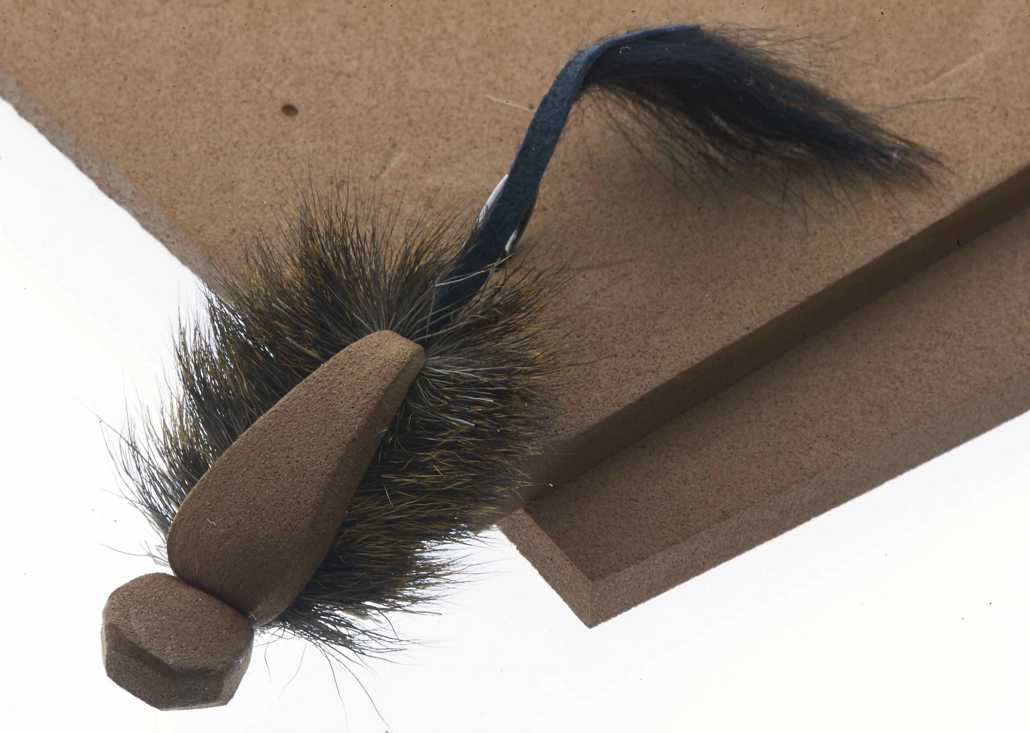 EVA foam for Mighty Mouse Tube fly Brown 7