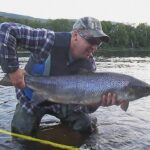 Bomber dry fly salmon