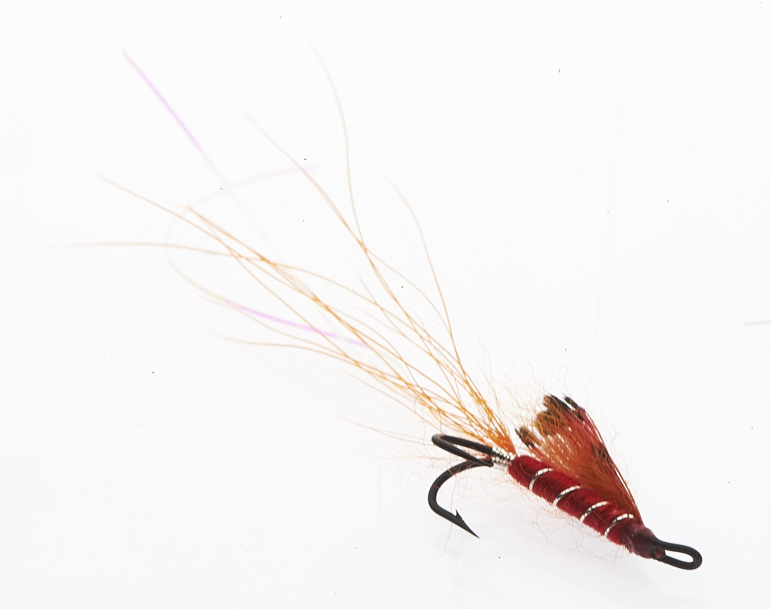 Ally's shrimp - Double hook # 12