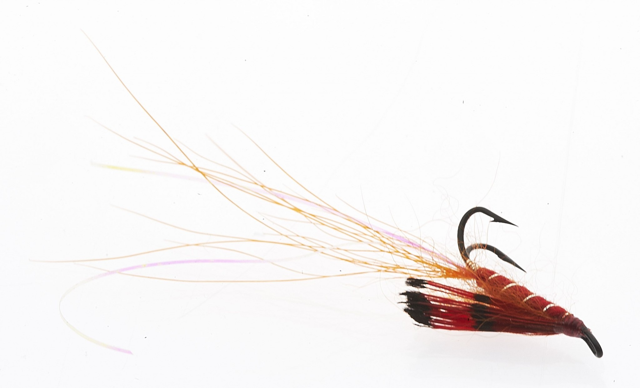 Ally's shrimp - Double hook # 12