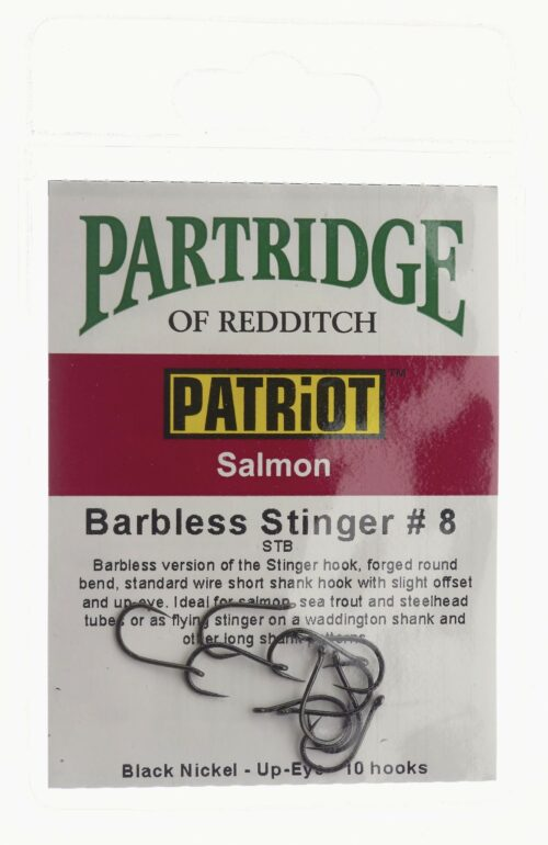 Patriot Barbless Stinger # 8 Partridge