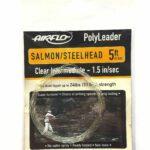 Airflo polyleader Salmon steelhead 5 ft clear intermidiate 1