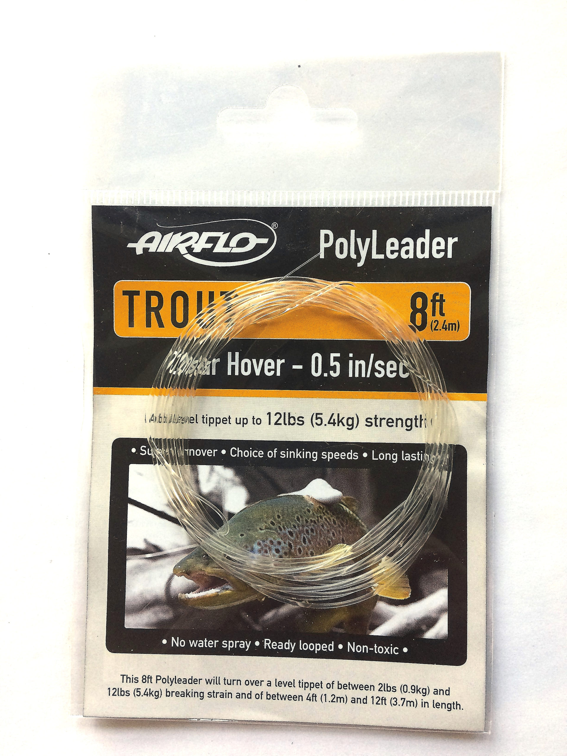 Airflo polyleader Trout Clear Hover 1