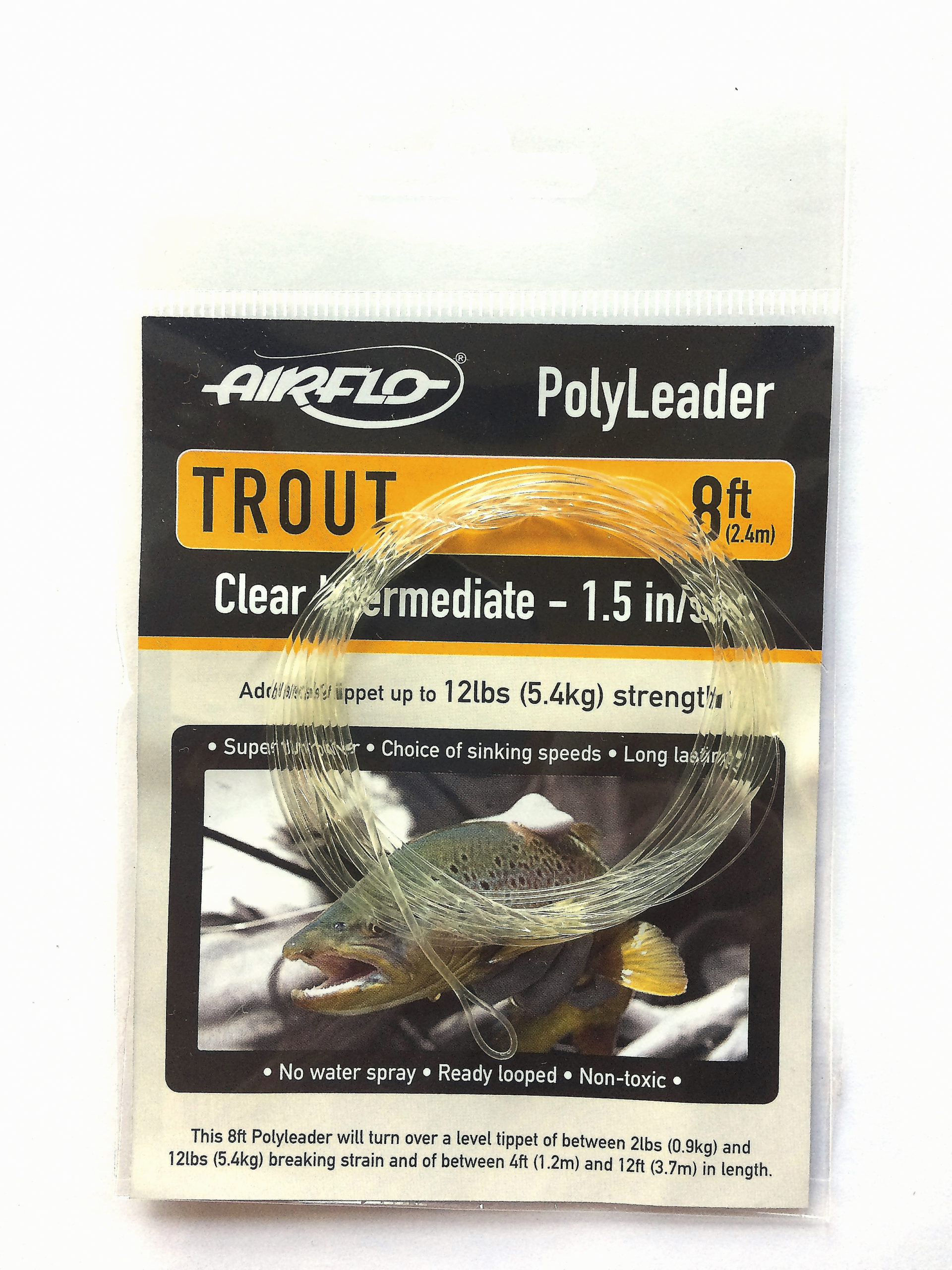 Airflo polyleader Trout Clear intermidiate 1