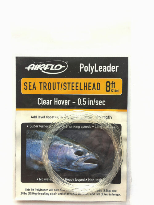 Airflo polyleader sea trout steelhead clear Hover 1