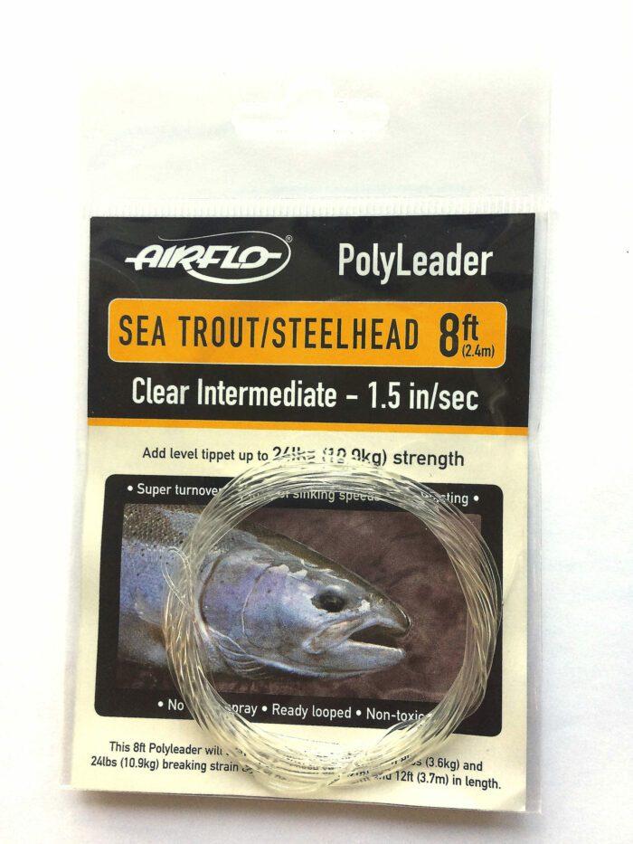 Airflo polyleader trout:steelhead clear intermidate 1
