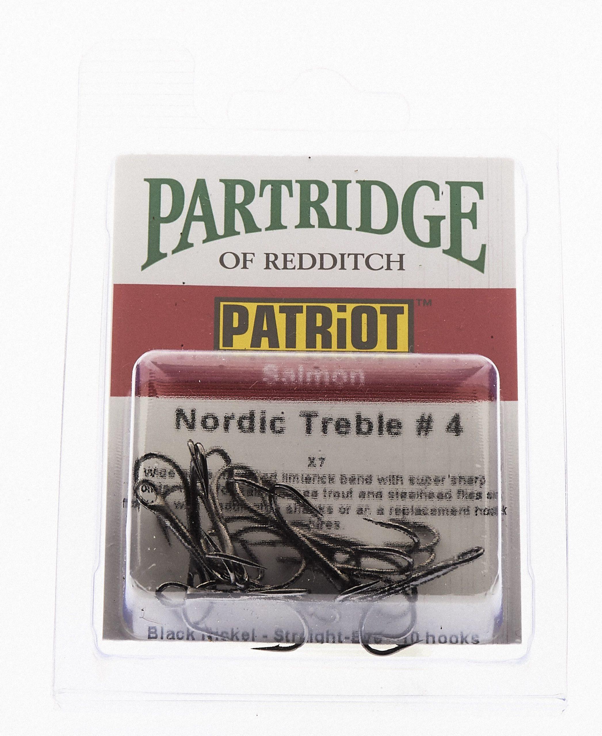 Partridge Patriot Nordic tube fly treble # 4