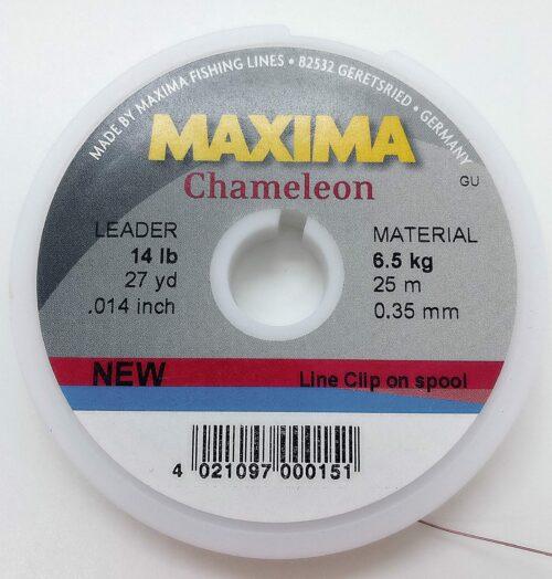 Maxima Chameleon tippet 0,35 mm. 14 lb