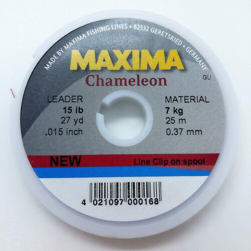 Maxima Chameleon tippet 0,37 mm. 15 lb