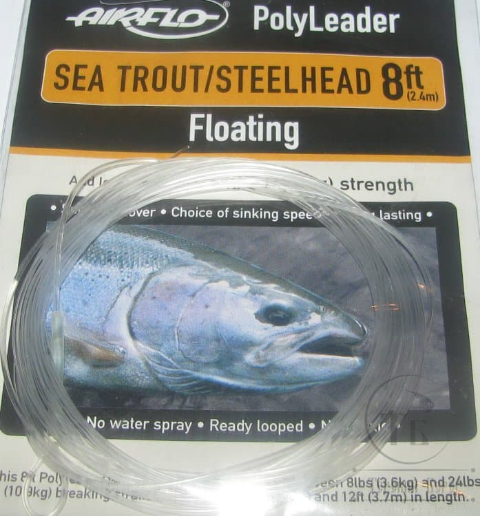 AIRFLO 5FT POLYLEADER FLY FISHING LEADER FOR TROUT or SALMON CHOOSE DENSITY