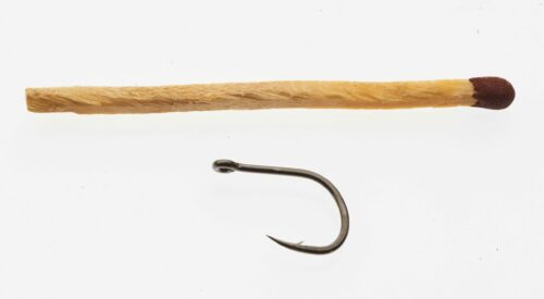 Owner Iseama 50188 Single Tube Fly Hook # 8