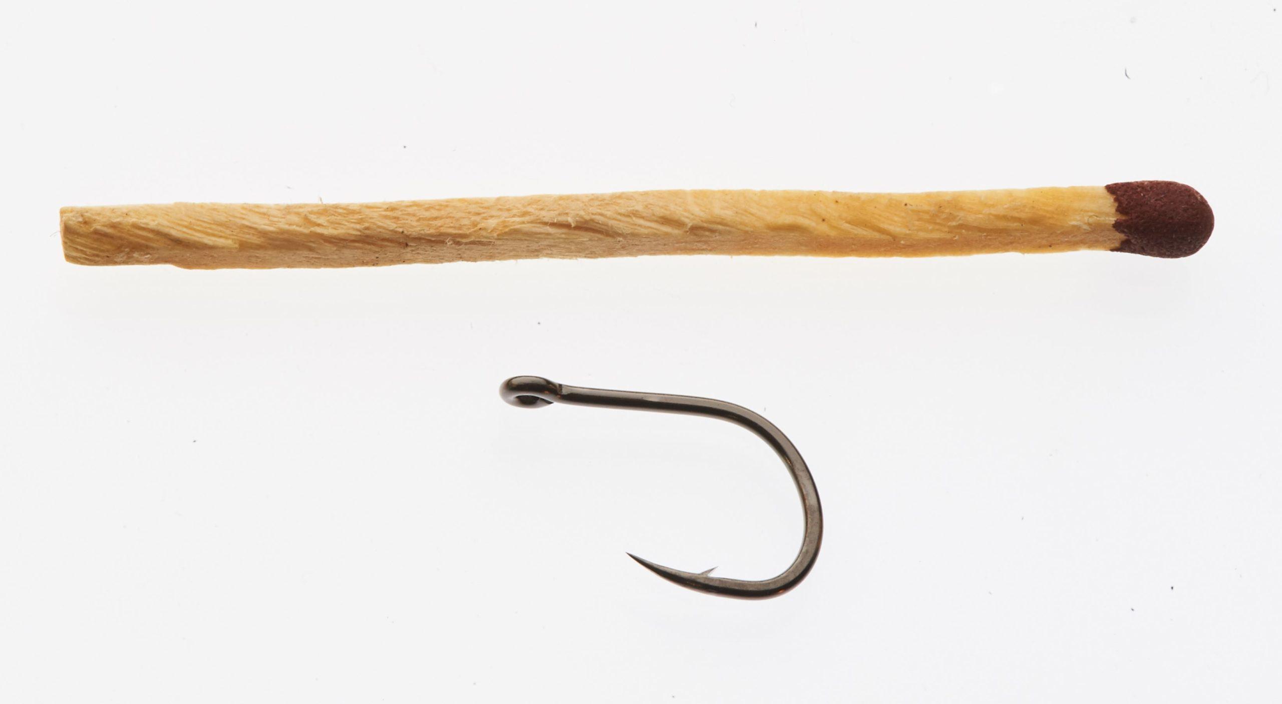 Owner Iseama 50188 Single Tube Fly Hook # 8