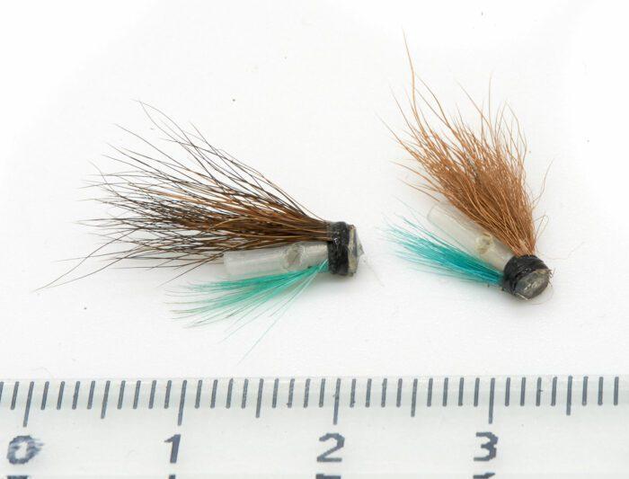 Micro flies Micro Hitch Blue Charm Extra Tiny version