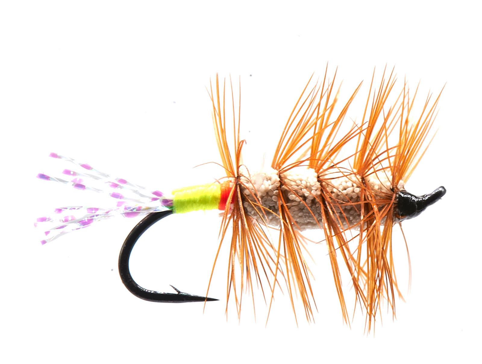 Glitter Bug Brown Green and Red # 10