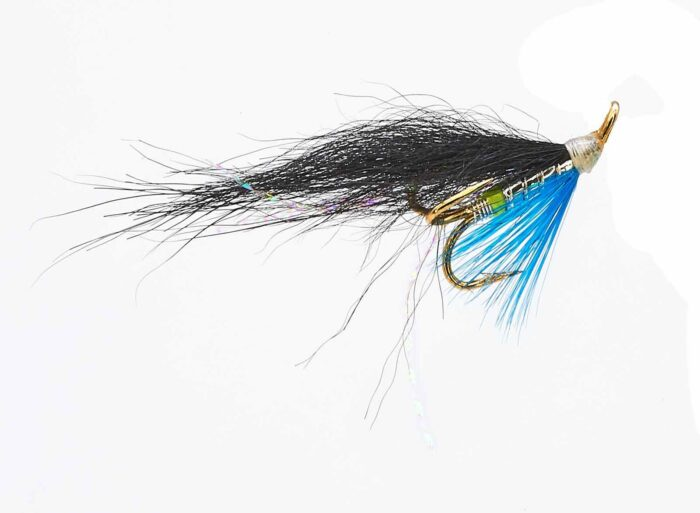 Ponoi Black Treble Hook fly # 8